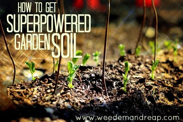 Wie man Superpowered Gartenboden erhält
