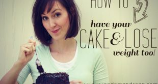 Wie man seinen Kuchen hat und auch Gewicht verliert!