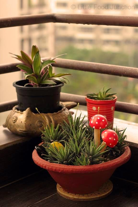 Schöner Balkon Garten !!
