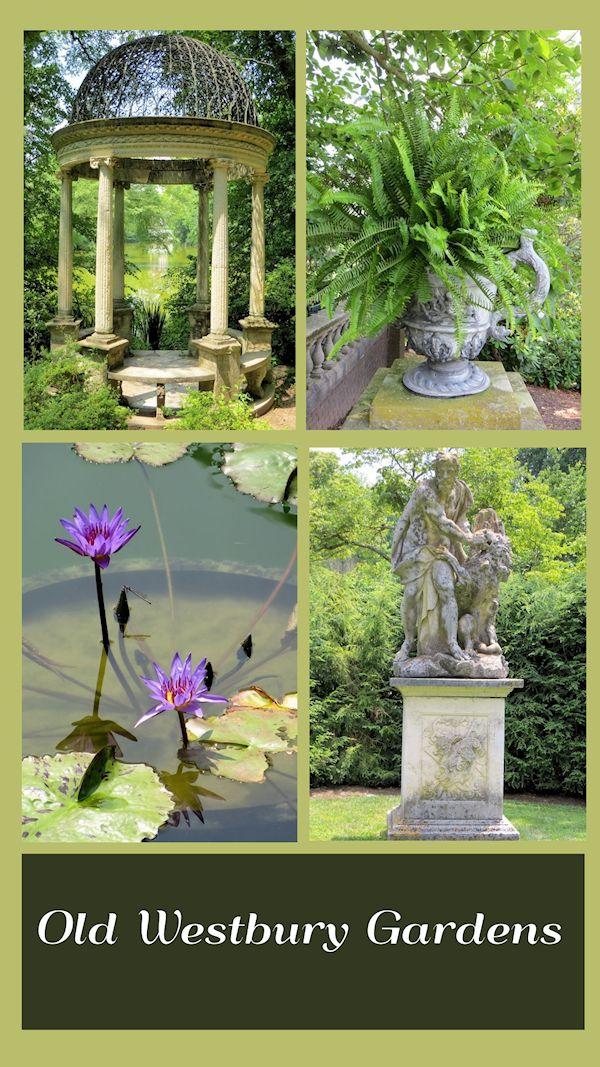 Sommerzeit Am Schonen Alten Westbury Garten Alten Westbury Long