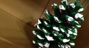 Weihnachtsbaum Handwerk für die Kinder von Debbie Beckett