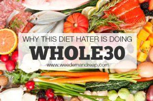 Warum macht dieser Diäthasser Whole30?