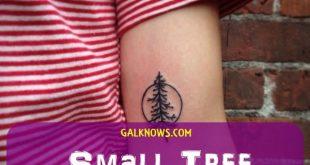 101 kleine Baum Tattoo-Designs, die gleichermaßen sinnvoll und niedlich sind
